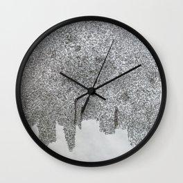 cota de malla - cote de mailles - mail (armour) Wall Clock