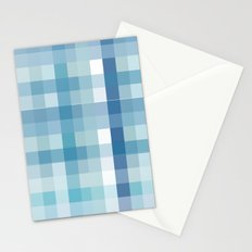 Pixelate Ocean Stationery Cards