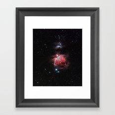 The Great Nebula in Orion Framed Art Print