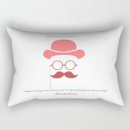 Hercule Poirot Rectangular Pillow