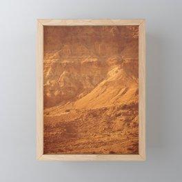Mountain Texture Framed Mini Art Print
