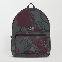 Faded Florals - Mauve Backpack