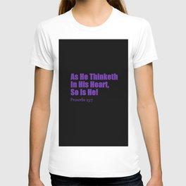 Proverbs T-shirt