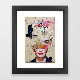 FRIDA FOR BEGINNERS Framed Art Print