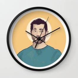 """""""I think you're gonna be okay."""" Wall Clock"""