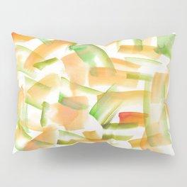 180719 Koh-I-Noor Watercolour Abstract 21 | Watercolor Brush Strokes Pillow Sham