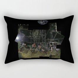Ashen Moon Rectangular Pillow