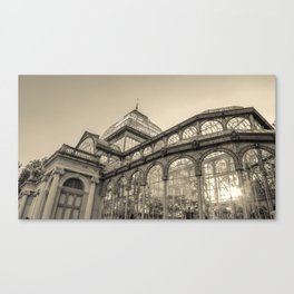 Architecture for the light Canvas Print