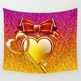 Open your heart Wall Tapestry