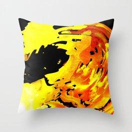 GOLDFALL Throw Pillow