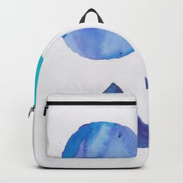 2 |181029 Geometrical Watercolor | Triangles | Circles Backpack