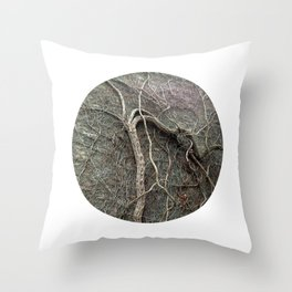 Planetary Bodies - Vines Throw Pillow