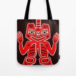 Haida Indians Alaska Blanket Design Tote Bag