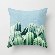 Cactus & Teal #society6 #decor #buyart Throw Pillow