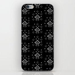 Spaceship  pattern iPhone Skin