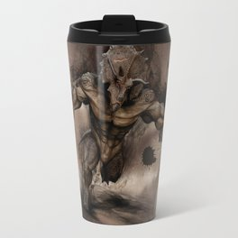 Triceratops human Travel Mug