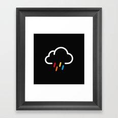 Lovely Rainy Day Framed Art Print
