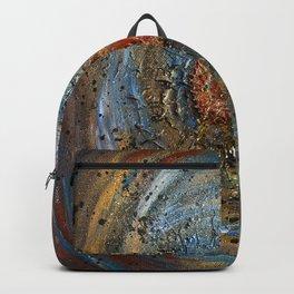 Metallic Home Protection Bind Rune Backpack