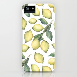 Lemon Fresh iPhone Case
