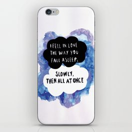 CAMIAB ~ The fault in our stars  iPhone Skin