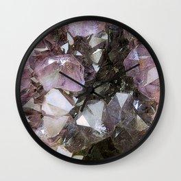 Crystal Earth Wall Clock