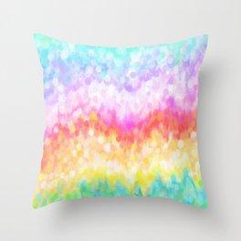 pastel rainbow #society6 #decor #buyart Throw Pillow