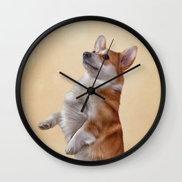 Dog breed Welsh Corgi Wall Clock