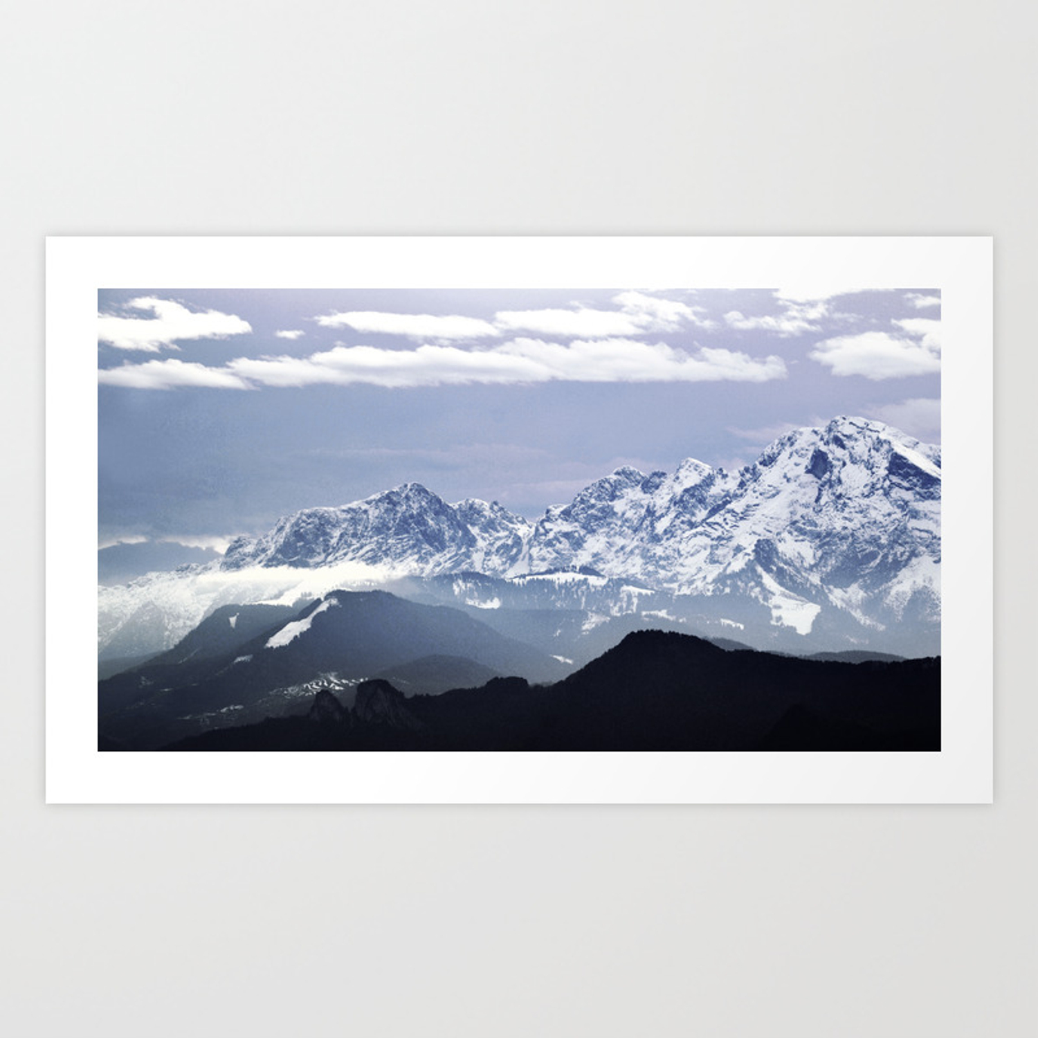 Bavarian Alps Germany Art Print By Grantpearce Society6