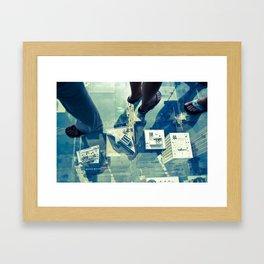 The Real Skybox Framed Art Print