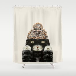 Indy Kitten Shower Curtain