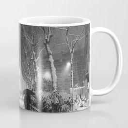 Strangers in the snow Coffee Mug