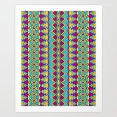Tribal Entity Art Print