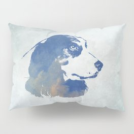 English Cocker Spaniel Dog Digital Art Pillow Sham
