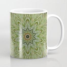 White pine kaleidoscope/mandala II Coffee Mug
