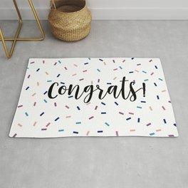 Congrats Sprinkles Rug