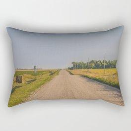 Countryside Near Garrison, ND 3 Rectangular Pillow