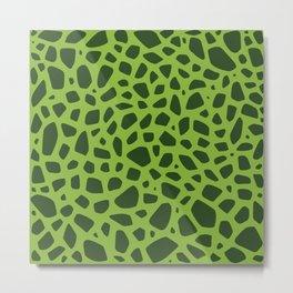Cell Pattern Metal Print