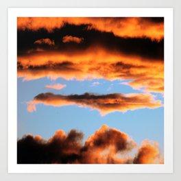 Sunset #201 Art Print
