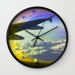 Above It All Wall Clock