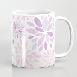 Nature's Healing Mandala Pastel Pink Coffee Mug