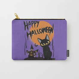 Halloween and cat Carry-All Pouch