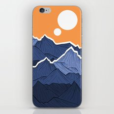 The mountains under the two suns iPhone & iPod Skin