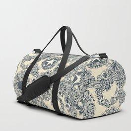 cirque fleur cream Duffle Bag