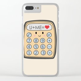 The Equation Clear iPhone Case