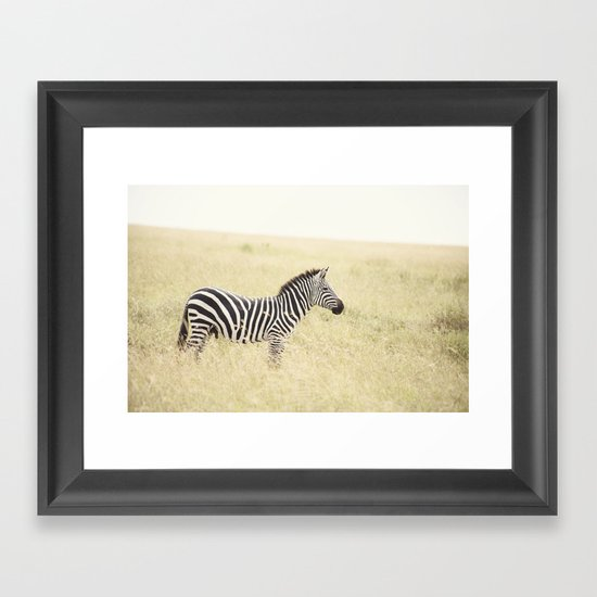 be still::kenya Framed Art Print