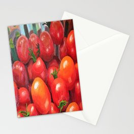 Cherry Tomatoes Stationery Cards