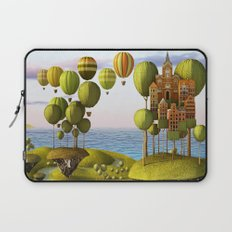 City in the Sky_Lanscape Format Laptop Sleeve