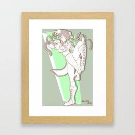Gamer Soul Fighter Line - Chun-Li Framed Art Print