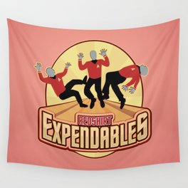 Redshirt Expendables Wall Tapestry
