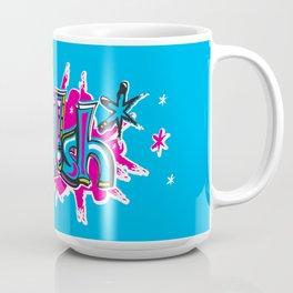 FN Foolish Graffiti Art blue Coffee Mug